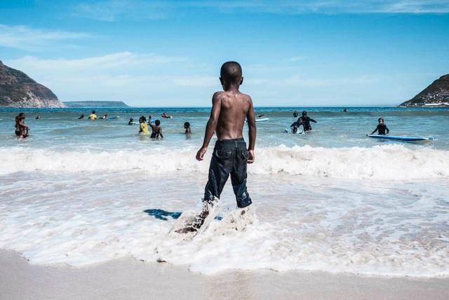 Plage, Le Cap, Afrique du Sud