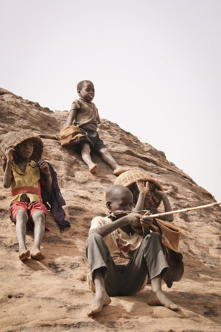 Enfants-pays-dogon