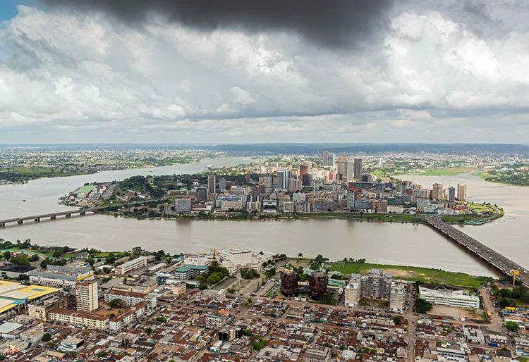 City of Abidjan, Ivory Coast