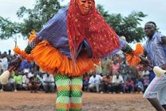 festival glozran de masques Gouro