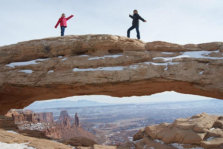 Mesa Arch Canyonlands