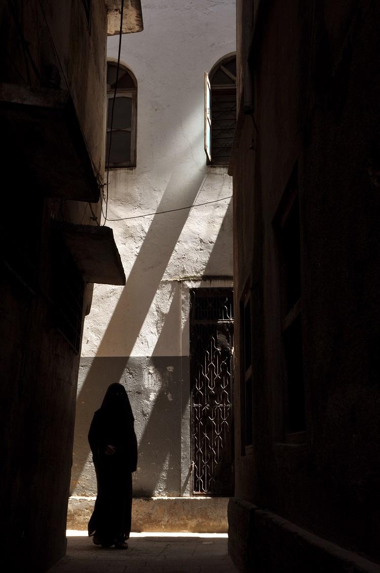 Woman on the street Zanzibar