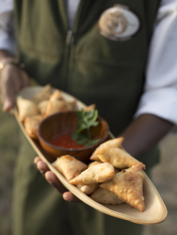 Bitings-feta-coriander-samoosas