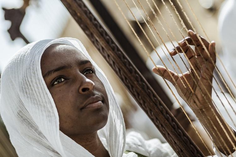 Musicienne-timkat-ethiopie
