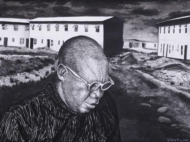 Self Portrait_2011_Zwelethu Mthethwa