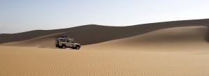 A 4x4 trek through the Namib Naukluft desert in Namibia