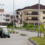 The private upper class compound of Banana Island in Lagos, Nigeria