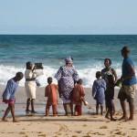 The Nigerian middle class is enjoying a day off at the Elegushi beach in Lekki, Lagos, Nigeria