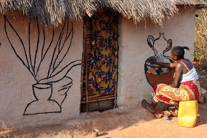 Makwasha, the village where the women are painters 2
