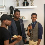 Presentation of the new the summer collections of Nigerian designers at the Poosh's Resort on Victoria Island, Lagos, Nigeria,
