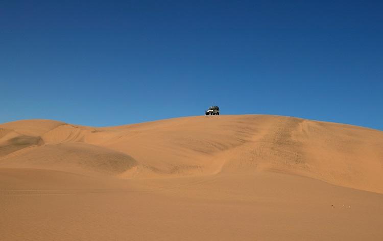 Un trek en 4×4 dans le désert du Naukluft Namibien