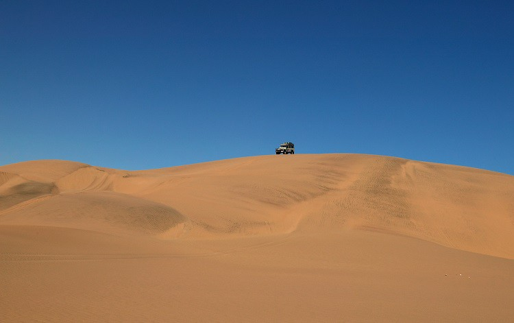 Trek in the Namib desert in Namibia