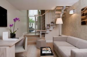 Duplex suite at Edmond Hotel Paris