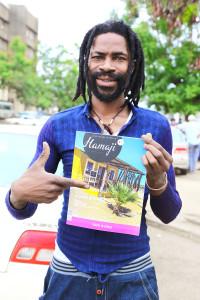 John Livington Musicien au Ka tanga, RDC