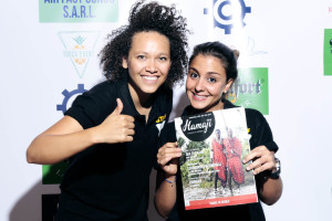Saskia et Filipa de Touch Event