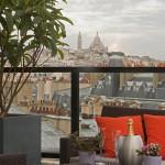 View from Edmond Hotel Paris