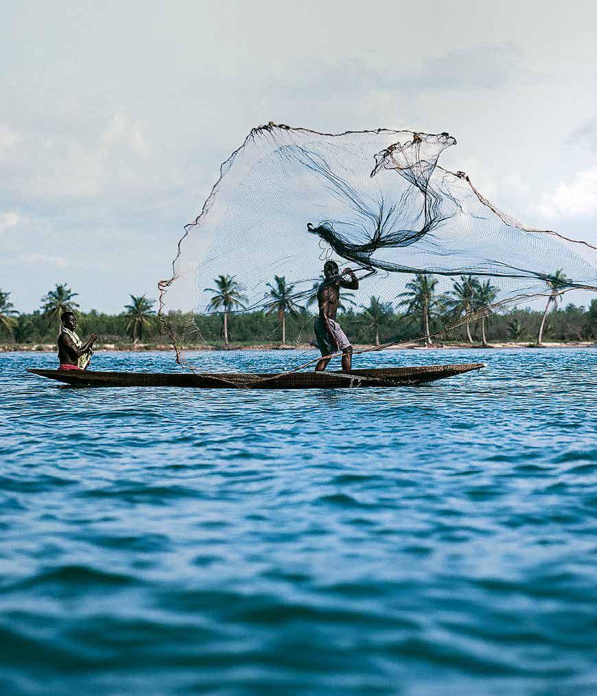 Les lagunes de Côte d'Ivoire, d'Assinie à Sassandra