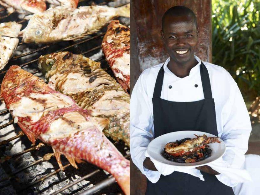 Seafood in dar Es Salaam