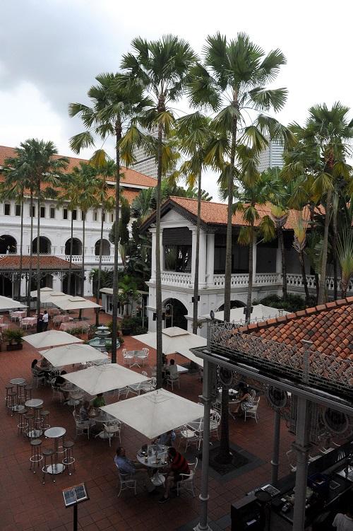 The Raffles hotel Singapore