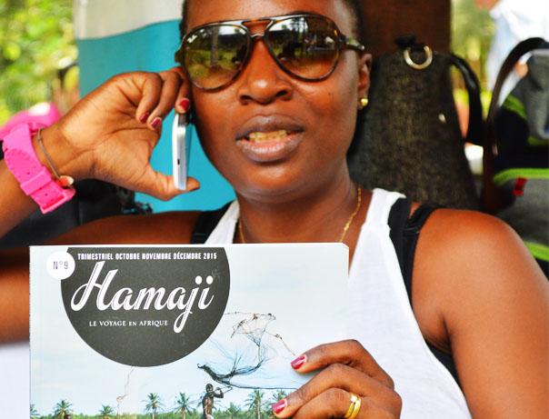 Una hamaji's people à Abidjan