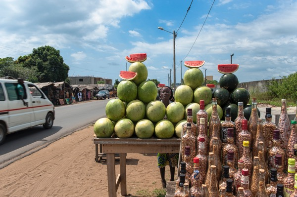 market, grand bassam, ivory coast