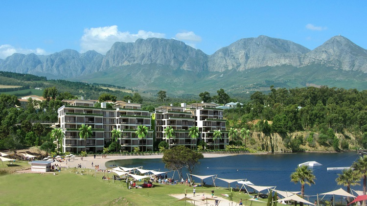 Blue Rock Village is situated on the lower slopes of the impressive Helderberg and Hottentot's mountain ranges.