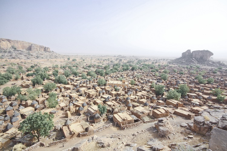 Dogon country in Mali