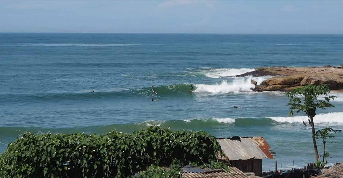 Surf trip sur la côte Ouest ivoirienne : Drewin