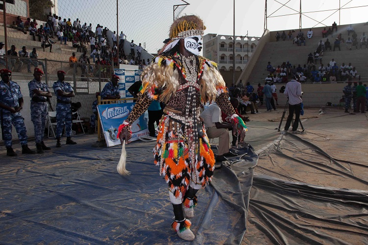 Wrestling in Senegal