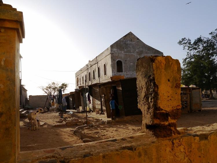 Batisse squattée à Gorée au Sénégal