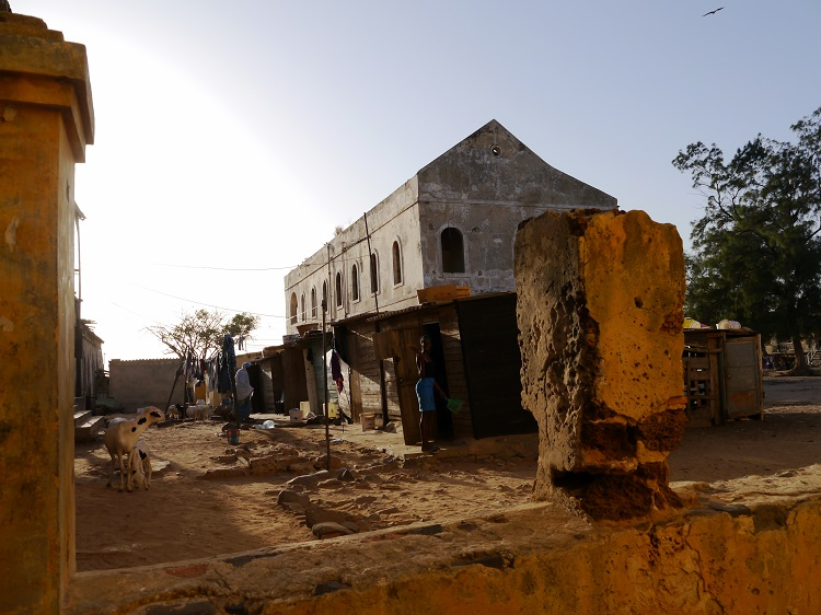 Abandonned building in Goree Senegal