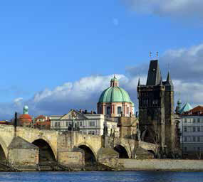 Charles Bridge in Praha
