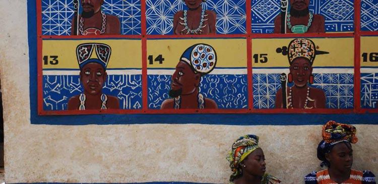 Cameroon, Foumban during the ritual of Nguon
