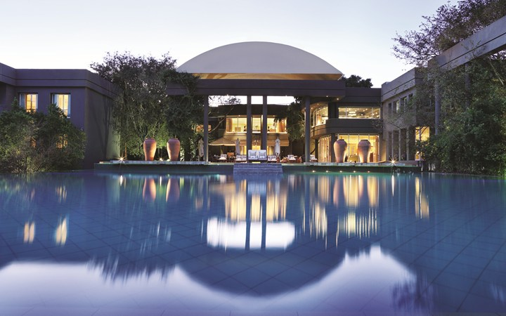 Saxon Hotel in Johannesburg, South Africa