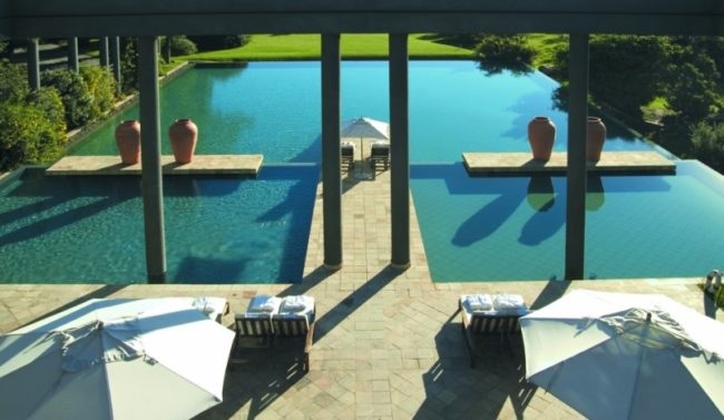 Pool at Saxon Hotel