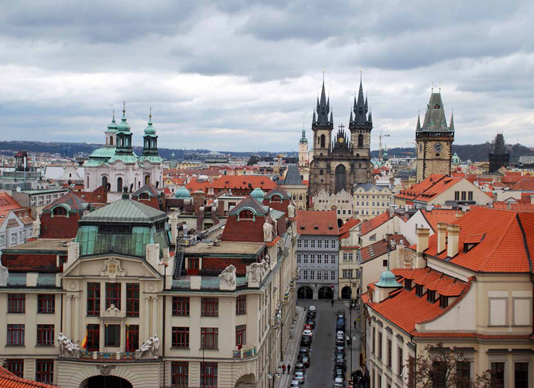 Praha, magical capital city in Europe