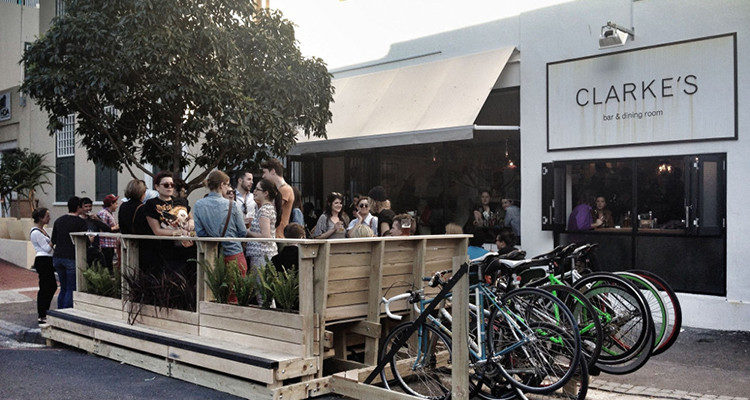 The best food bars of Bree Street