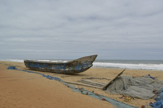 Grand-Lahou beach, Ivory Coast