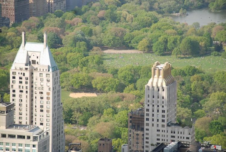 In New York city, nature in Metropolis