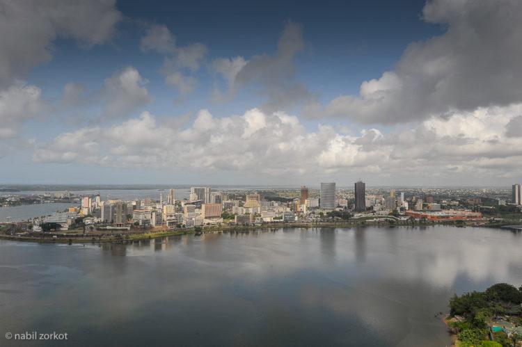 View from Sofitel hotel In Abidjan
