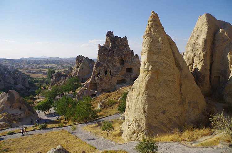 In Turkey, in a paradise called Cappadocia: calm, luxury and pleasure