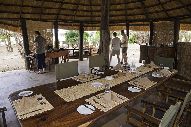 Lodge in Luangwa Valley