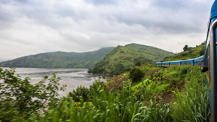 In Congo, a getaway on board the White Train