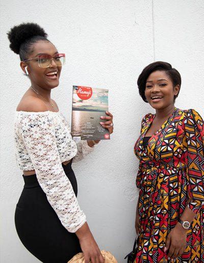 Dorcas Dienda, Miss Africa 2018 et Josepha Mutund