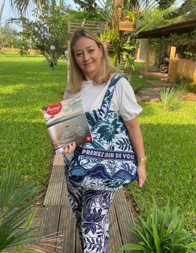 Caroline Pallisco, enseignante en vacances, Côte d'Ivoire