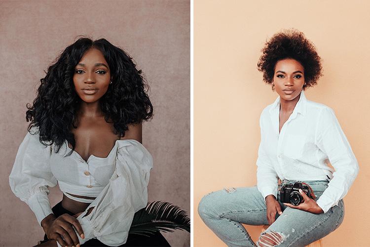 Asiyami Gold, Conteuse visuelle et entrepreneure Américo-Nigériane aux multiples facettes.